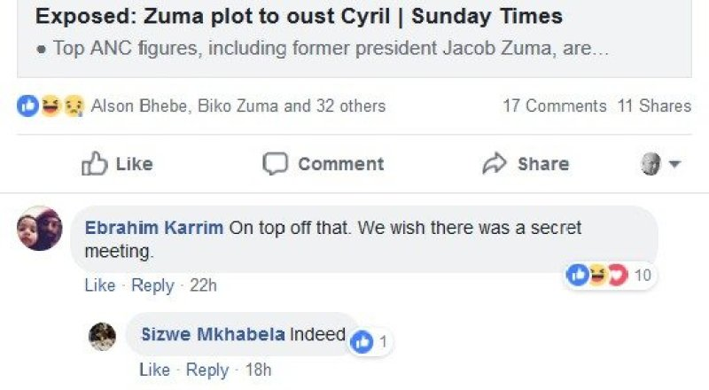2018.09.10a Indoda Yamaqiniso want South African government overthrown