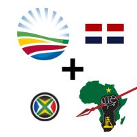 DA EFF coalition Cape Party Vryheidsfront Good Party COPE