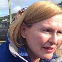 Helen Zille in Knysna - DA FB photo
