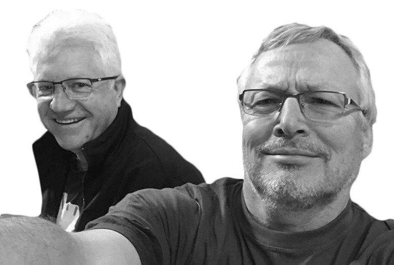 MEC Alan Winde and Dr Martin Young at DA conference (23 September 2017)