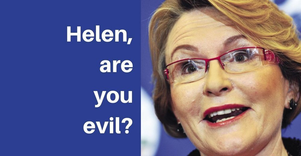 Helen Zille are you evil