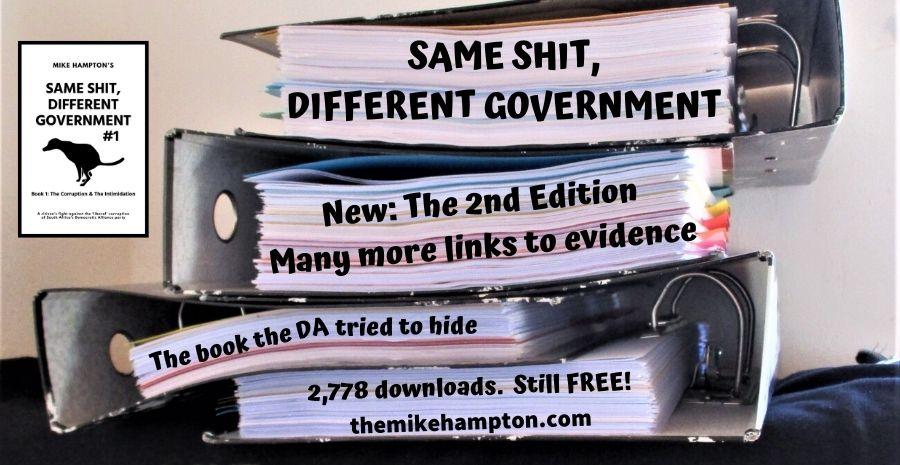 Same Shit Different Government book Democratic Alliance corruption free download