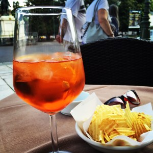 The spritz is the popular drink of this area of Italy