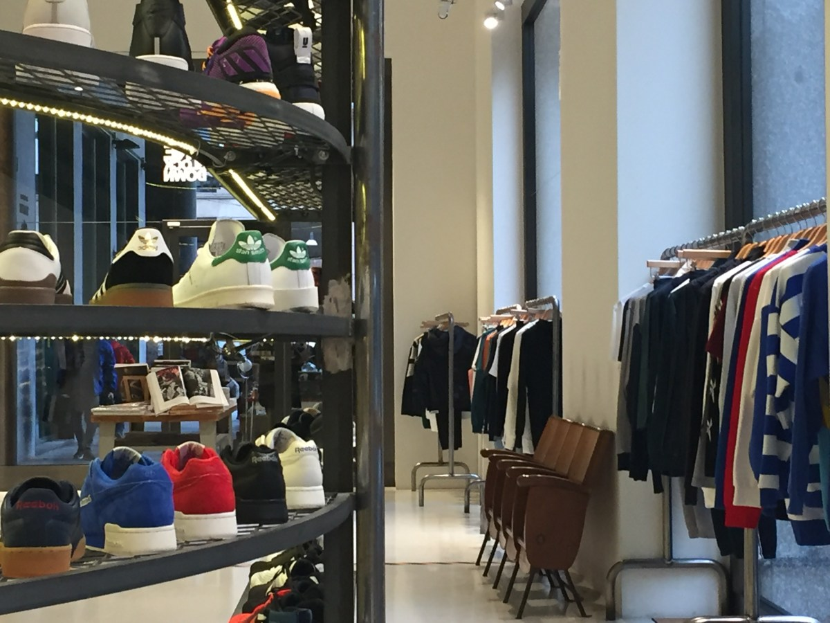 One block down: where to buy sneakers in Milan