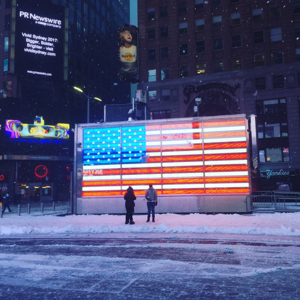 Blizzard in New York