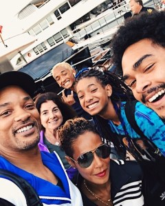 Will Smith in Italy