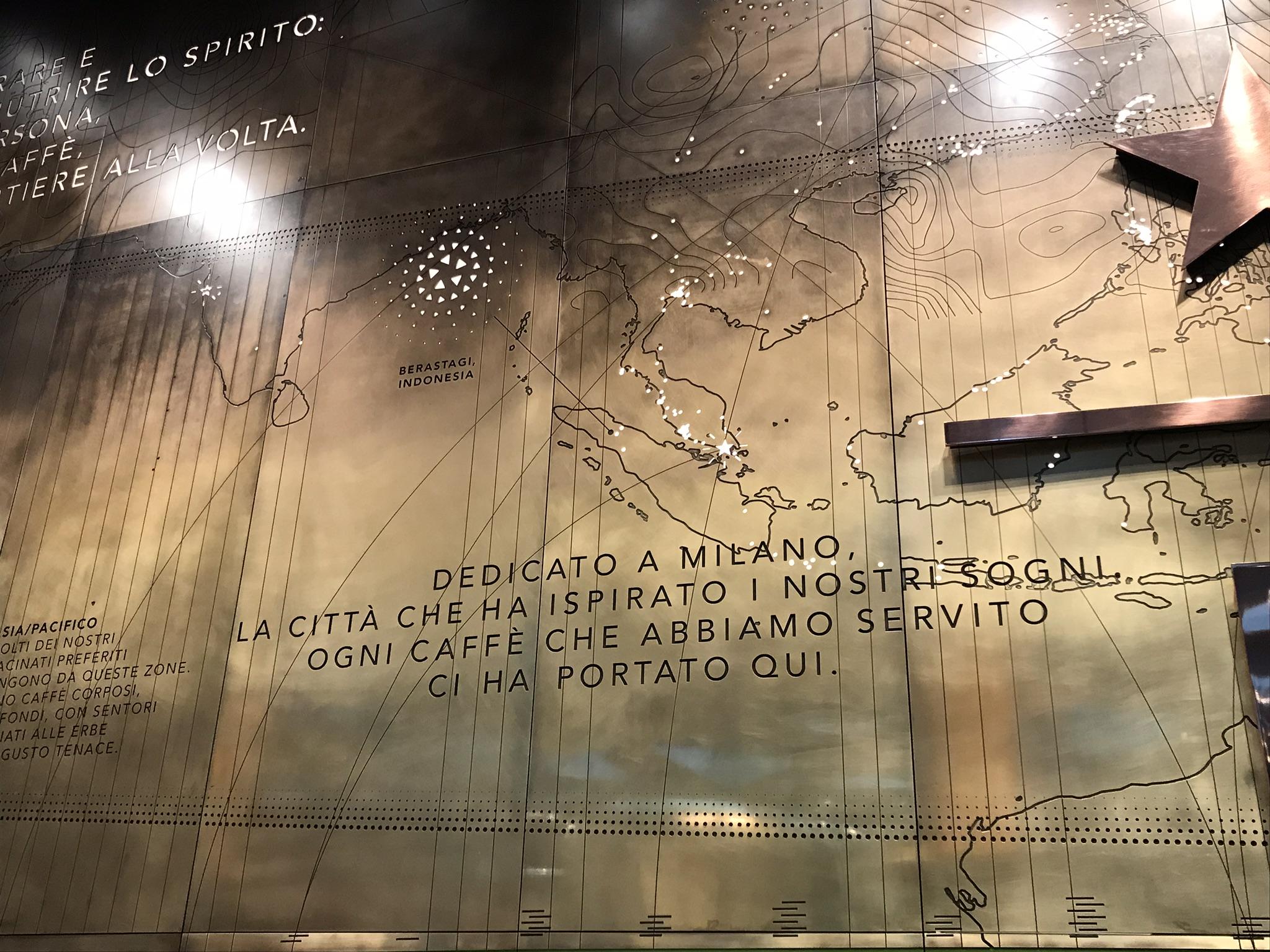 Starbucks in Milan