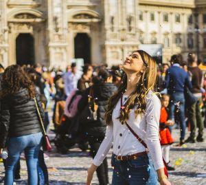 Week end in Milan