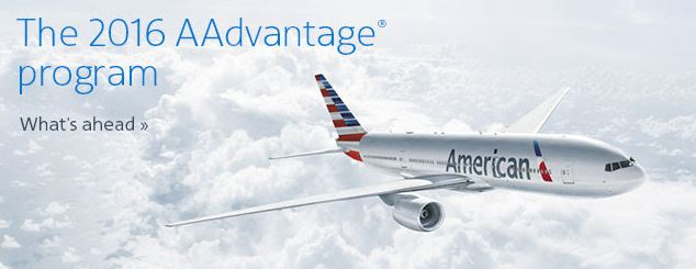 American Airlines announces changes to their AAdvantage Program