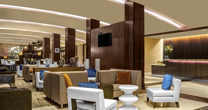 Hilton Times Square Lobby