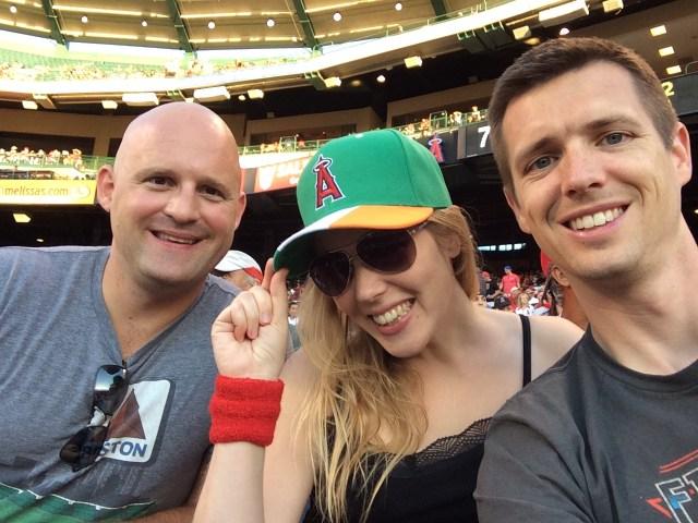 Enjoying Angels Baseball