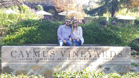 Caymus, napa valley, wagner wines, redeem chase ultimate rewards, andaz napa