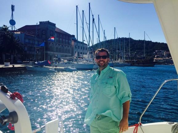 Croatia catamaran charter, Vis