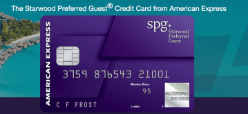 American Express SPG credit card