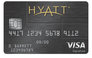 hyatt credit card from chase