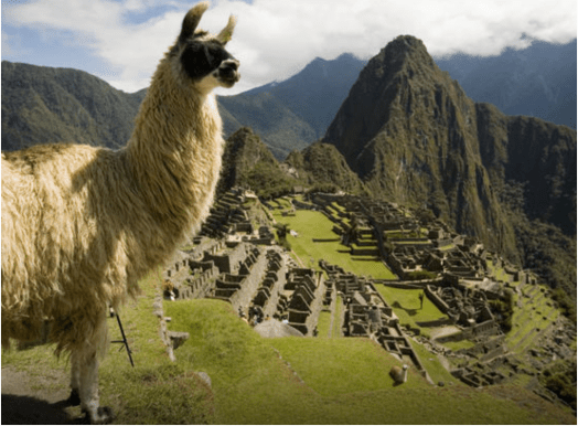peru on points, machu picchu on points