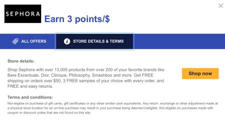 Sephora Southwest Rapid Rewards Shopping Portal united mileage plus x app earn more united miles