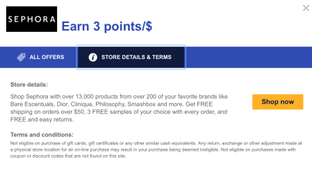 Sephora Southwest Rapid Rewards Shopping Portal united mileage plus x app earn more united miles