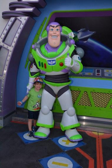 Buzz Lightyear at Walt Disney World