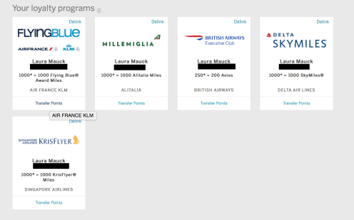 American Express Membership Rewards Partners, How to transfer Amex MR to partners