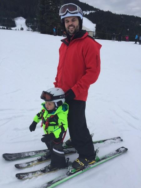 toddler skiing Whistler