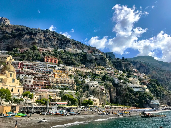 Positano to Capri ferry