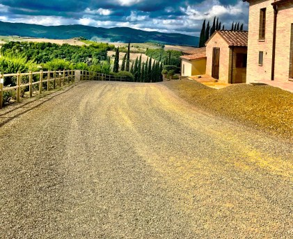 tuscany on miles and points