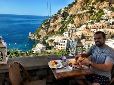 Breakfast views at Hotel Villa Gabrisa