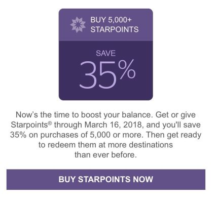 should I buy starpoints