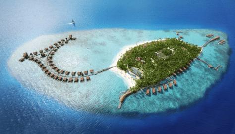 new marriott rewards program st regis Maldives
