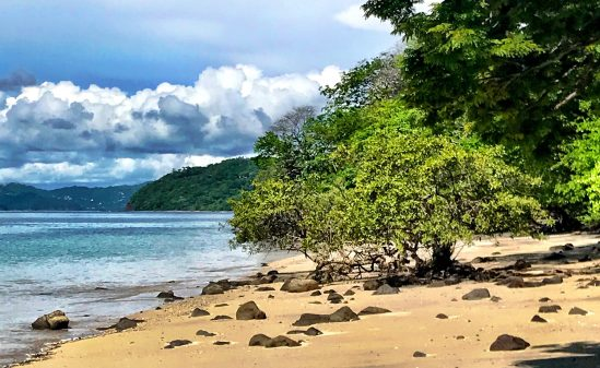 beach at andaz Costa Rica review