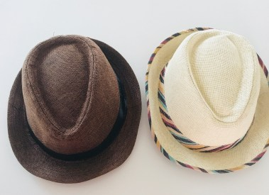complimentary hats at the Andaz Costa Rica