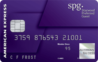 American Express Starwood Preferred Guest credit card fall 2018 targeted bonus offer