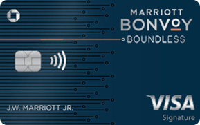 Marriott convoy boundless chase credit card 2019