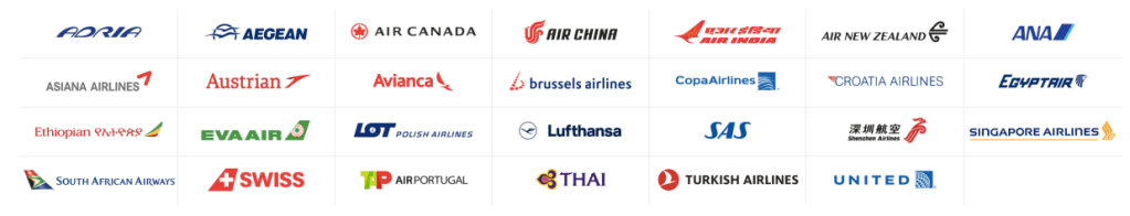 Star alliance member airlines 2019