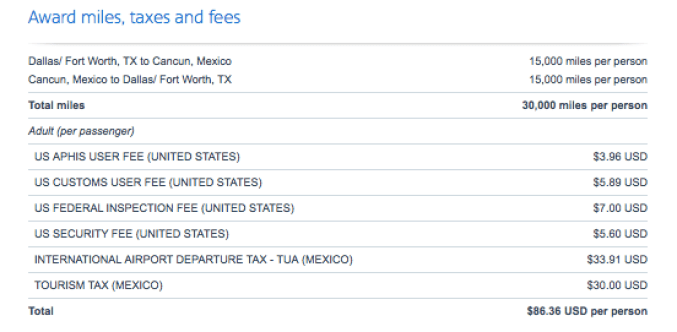 American Airlines flights with Chase points