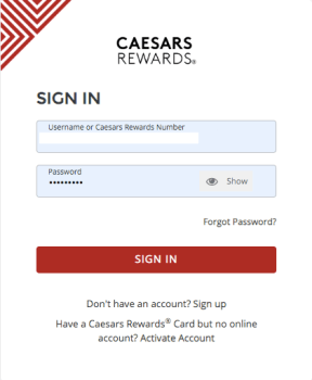 caesars rewards diamond 2020