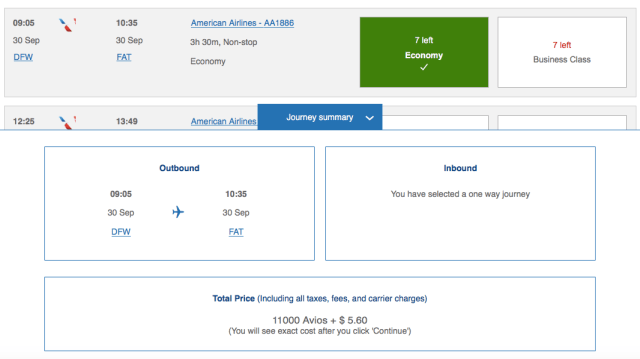 How to book American Airlines flights with Chase Ultimate Rewards points
