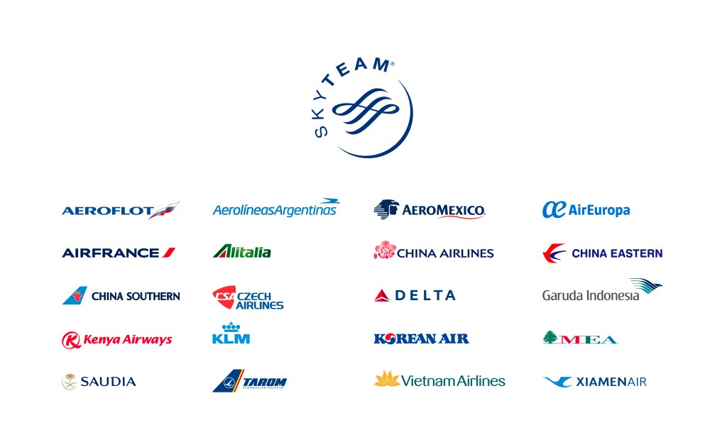 SkyTeam member airlines 2021