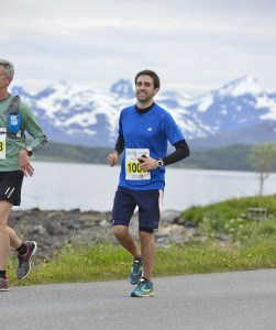 Midnight Sun Marathon Tromsø, Norway