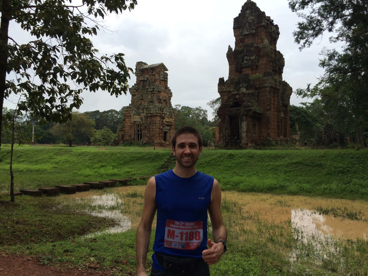Review: Angkor Empire Marathon - Angkor Wat, Cambodia (August 9, 2015)