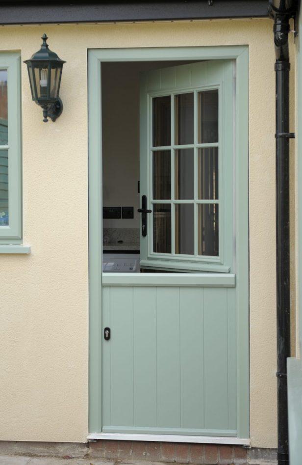 PVCu stable door pale blue