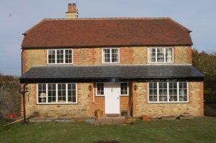 PVCu windows exterior farmhouse