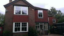 PVCu windows exterior sash