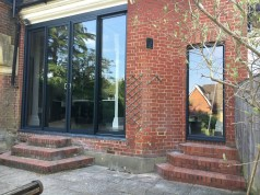 Aluminium patio door