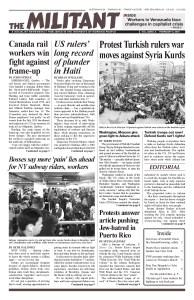 thumbnail of Militant Vol.82/No.5