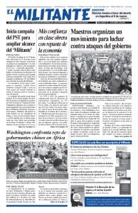 thumbnail of El Militante Vol. 82/No.13