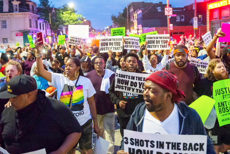 Marchers in Pittsburgh June 23 demand charges against cop who fatally shot Antwon Rose Jr.