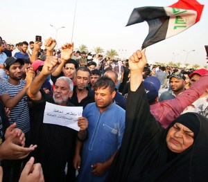 July 19 protest in Basra, one of many across southern Iraq.