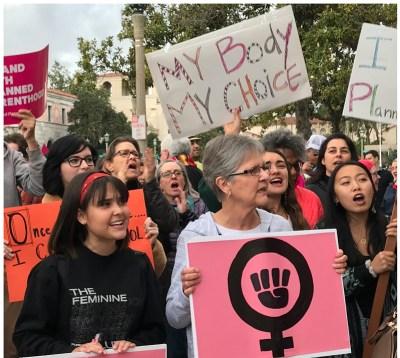 March in Pasadena California